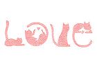 bilde kjærlighet - katter