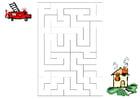 bilde labyrint - brannmenn