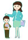 bilde lærer og elev