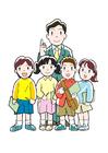 bilde lærer og elever