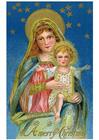 bilde Maria med Jesus