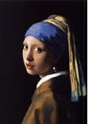 bilde Pike med perleøredobb - Johannes Vermeer