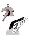 bilde romersk hjelm