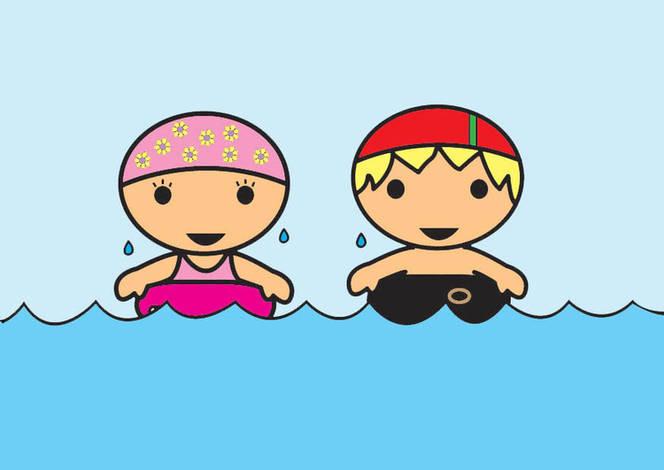 Bilde svømme - Gratis Bildene - bilde 26854