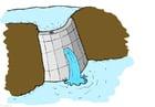 bilde vannkraft - demning