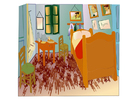 bilde Vincent van Gogh - soverom i Arles