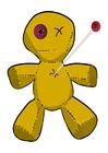 bilde voodoo-dukke