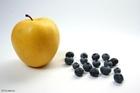 Foto eple og blåbær