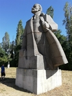 Foto Lenin Sofia-statue