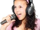 Foto mikrofon og hodetelefon