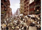 Fotografier New York - Mulberry Street 1900