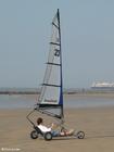 Foto seiling på stranden