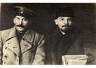 Foto Stalin og Lenin