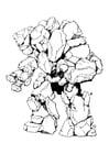 Foto Stone Elemental - mann av stein