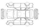 håndverk for barn bil