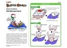 håndverk for barn julekort 1