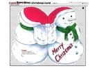 håndverk for barn julekort 2