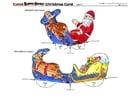 håndverk for barn julekort 4