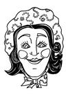 håndverk for barn Katrijn maske
