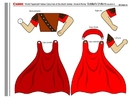 håndverk for barn romersk soldat del 3